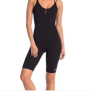 Free people Glow one piece body suit black